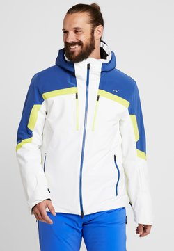 Kjus - MEN SPEED READER JACKET - Kurtka narciarska - white/southern blue