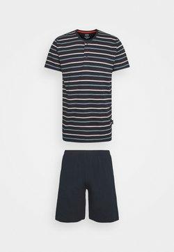 Ceceba - SHORTY - Pyjama - blue dark