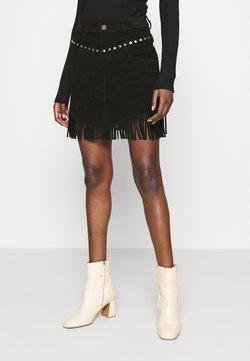 Replay - SKIRTS - A-line skirt - black