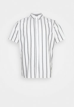 Only & Sons - ONSTRAVIS LIFE STRIPED THIN OXFORD - Hemd - cloud dancer