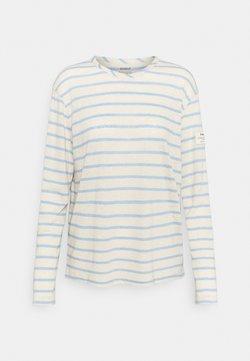 Ecoalf - STRIPE LONG SLEEVE  - Langarmshirt - dark lavander
