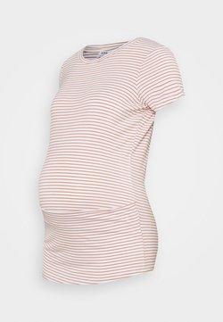 Cotton On - MATERNITY WRAP FRONT SHORT SLEEVE  - T-Shirt print - josie white/summer sand