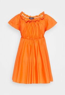 Missguided - BARDOT SKATER DRESS - Freizeitkleid - orange