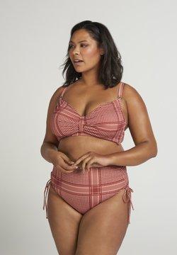 Zizzi - Bikini-Hose - coral