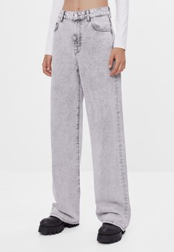 Bershka - Flared Jeans - grey