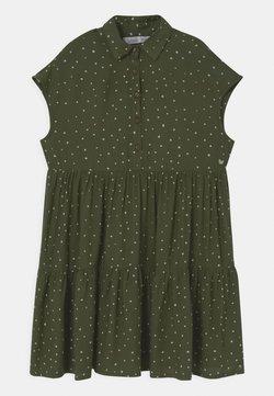 Tiffosi - JEANES - Blusenkleid - green