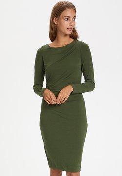 InWear - Vestido de tubo - beetle green