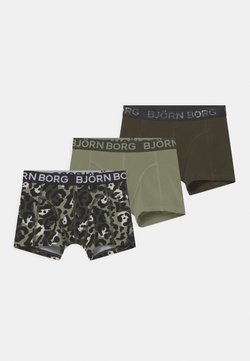 Björn Borg - CAMODOTS SAMMY 3 PACK - Panties - dark green