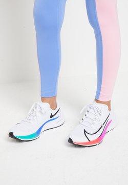 Nike Performance - AIR ZOOM PEGASUS 37 UNISEX - Hardloopschoenen neutraal - white/jade aura/flash crimson/hyper violet