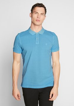 Marc O'Polo - SHORT SLEEVE BUTTON PLACKET - Poloshirt - airblue