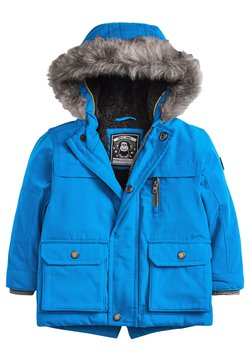 Next - Parka - blue-grey