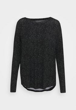 GAP - LUXE TUNIC - Pitkähihainen paita - black