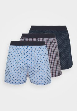 JBS - LOOSE 3 PACK - Boxershorts - blue/red