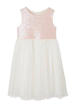 Vertbaudet - Cocktailkleid/festliches Kleid - zartrosa/weiß