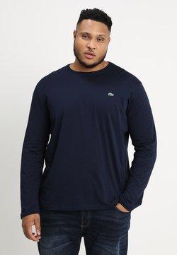 Lacoste - T-shirt à manches longues - navy