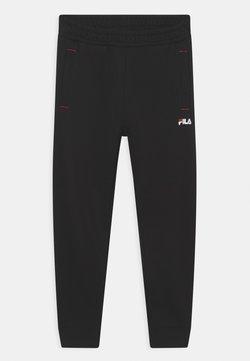 Fila - LOGO UNISEX - Pantalones - black
