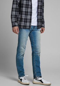 Jack & Jones - CLARK ORIGINAL AM - Relaxed fit jeans - blue denim