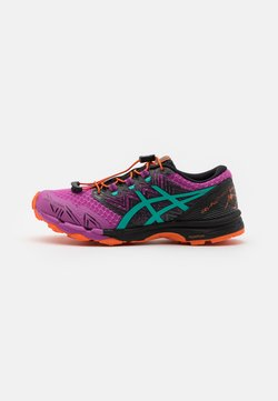 ASICS - GEL-FUJITRABUCO SKY - Zapatillas de trail running - digital grape/baltic jewel