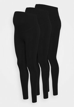 Anna Field MAMA - 3 PACK - Leggingsit - black