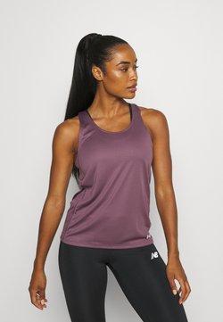Under Armour - FLY BY TANK - T-shirt de sport - purple