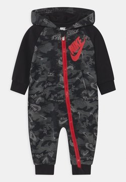 Nike Sportswear - CRAYON CAMO - Haalari - black