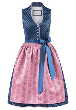 Stockerpoint - Dirndl - blau-rose