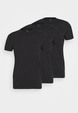 Nerve - JESSE TEE 3 PACK - T-shirt basic - black