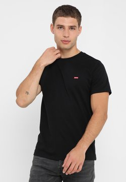 Levi's® - 501 ORIGINAL TEE - T-Shirt print - patch black
