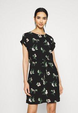 Vero Moda - VMSIMPLY EASY TIE SHORT DRESS - Robe d'été - black