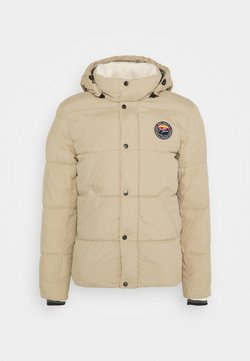 Jack & Jones - JJSURE PUFFER JACKET - Winterjacke - crockery