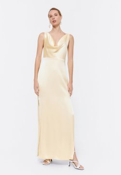 Uterqüe - Cocktailkleid/festliches Kleid - yellow