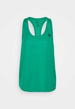 Reebok - TRAINING PERFORMANCE MESH TANKTOP - Funktionsshirt - emerald