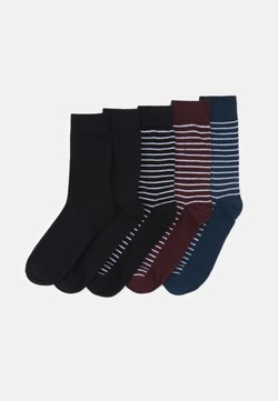 Jack & Jones - JACTHIN SOCKS 5 PACK - Sokken - black