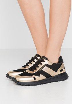 MICHAEL Michael Kors - MONROE TRAINER - Sneakers - black/pale gold