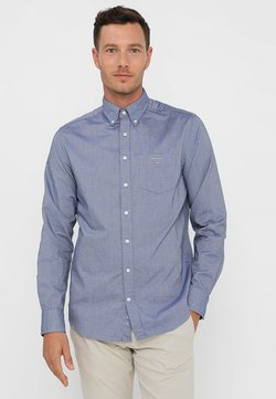 GANT - THE OXFORD - Camisa - evening blue