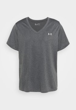 Under Armour - TECH - T-Shirt basic - carbon heather