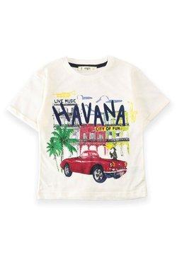 Cigit - T-shirt con stampa - off-white