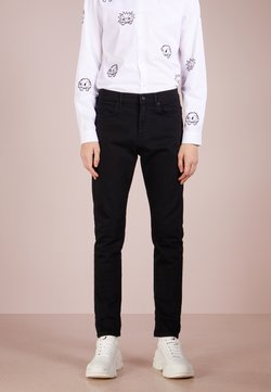McQ Alexander McQueen - MISMATCHED STRUMMER - Slim fit jeans - darkest black