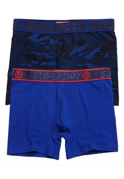 Superdry - 2PACK - Shorty - dark blue