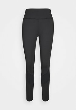 South Beach - INSERT PANEL LEGGING CURVE - Tights - black