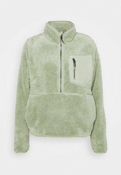 ONLY Tall - ONLDALINA ZIP - Sweater - desert sage