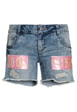 TOM TAILOR - Jeans Shorts - light blue denim/blue