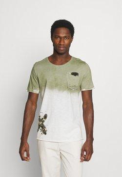 Key Largo - PROJECT ROUND - Print T-shirt - khaki