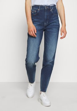 Tommy Jeans - MOM - Jeans Relaxed Fit - cony dark blue comfort