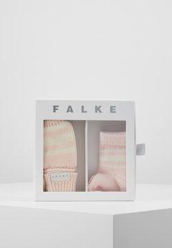 Falke - BABY GIFT SET - Moufles - powder rose