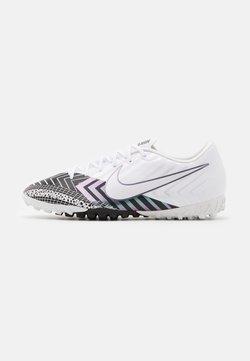 Nike Performance - MERCURIAL VAPOR 13 ACADEMY TF - Scarpe da calcetto con tacchetti - white/black