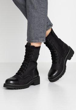 G-Star - MINOR BOOT - Schnürstiefelette - black