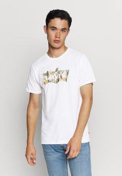 Levi's® - HOUSEMARK GRAPHIC TEE - T-shirt imprimé - cactus fill white