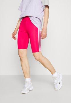 adidas Originals - ORIGINALS HIGH WAISTED TIGHTS - Shorts - power pink/white