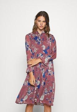 Vero Moda - VMKATINKA DRESS  - Freizeitkleid - rose brown/katinka